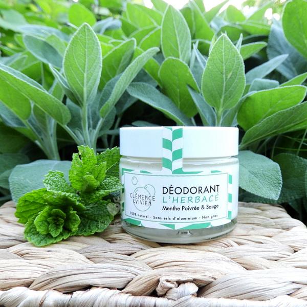 déodorant crème herbacé clémence et vivien