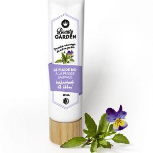 crème visage bio pensée sauvage de Beauty garden 30 ml
