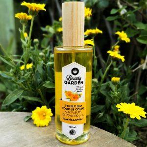 huile bio nourrissante calendula beauty garden
