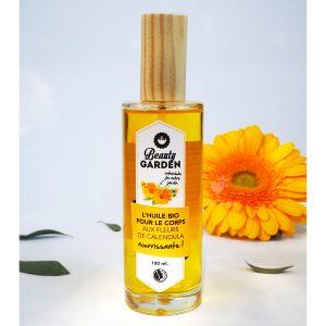 huile pour le corps calendula beauty garden 100 ml
