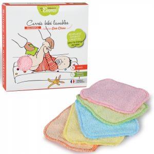 5 Recharge carré lavable pour le change des bébés. idéal pour le pipi. Marque Tendances d'Emma