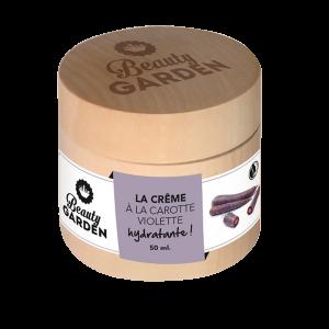 Crème à la carotte violette de beauty garden 50 ml