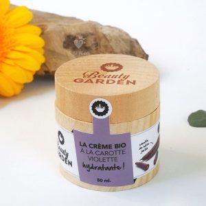 Crème carotte violette Beuty garden 50 ml