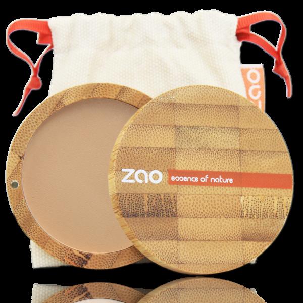 Poudre compact beige orangé 302 Zao