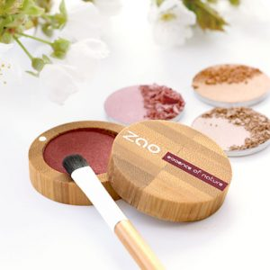 ombres paupières nacrée bio Zao Make Up