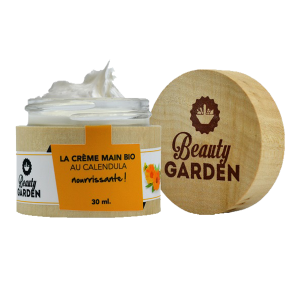 crème main au calendula Beauty garden