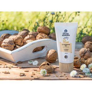 gommage bio à la noix beauty garden 50 ml