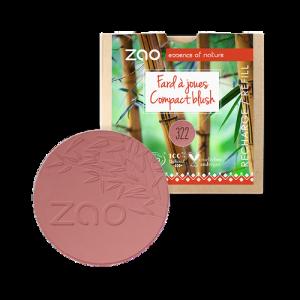 recharge fard à joues bio zao make up brun rose 322