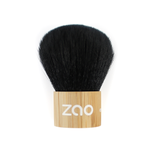 Pinceau kabuki Zao make up mineral silk