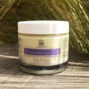 crème nourrissante Chanvre et Thym ibbéo cosmétiques