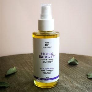 huile de beauté ibbéo cosmétiques flacon verre consigné 100 ml