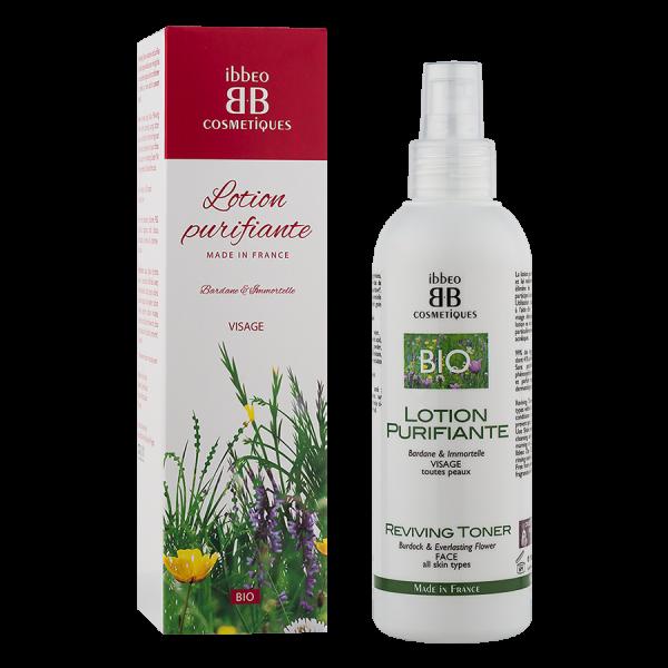 lotion purifiante ibbeo cosmétiques 200 ml