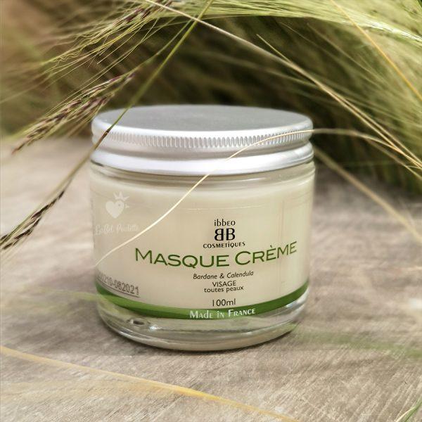 masque crème ibbéo cosmétiques masque visage peau sèche