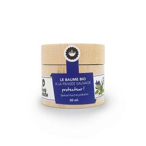 baume-bio-protecteur à la pensée sauvage Beauty Garden 30 ml