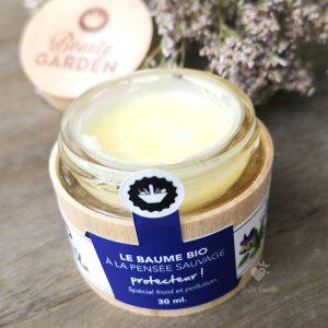 baume protecteur à la pensée sauvage Beauty Garden 30 ml