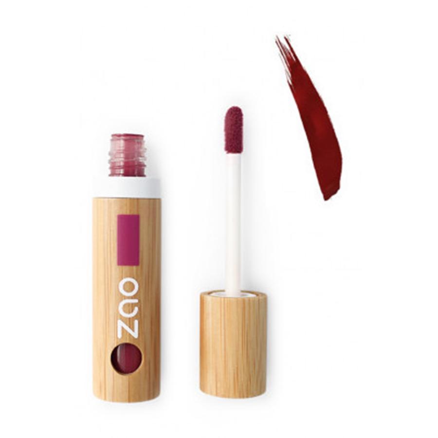 Vernis à lèvres rechargeable bio zao lie de vin