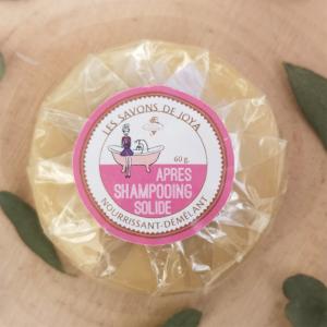apres shampoing solide savons de joya nourrissant-demelant