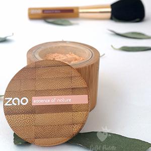 minéral Silk Zao Make Up - Poudre libre pour le teint bio
