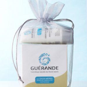 ROUTINE SOIN DES MAINS Guérande Cosmetics 1 crème hydratante main et un exfoliant Guérande