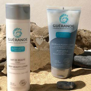 incontournables soin du coprs guérande cosmétics coffret cadeau gommage corps et lait hydratant corps