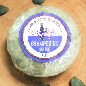 shampooing solide bleu savons de joya 75 g