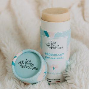 déodorant fleur de coton les petits prodiges