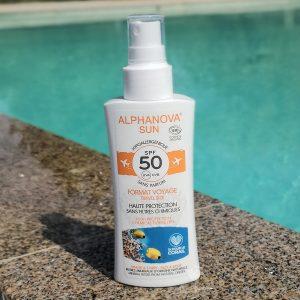 crème solaire indice 50 Alphanova