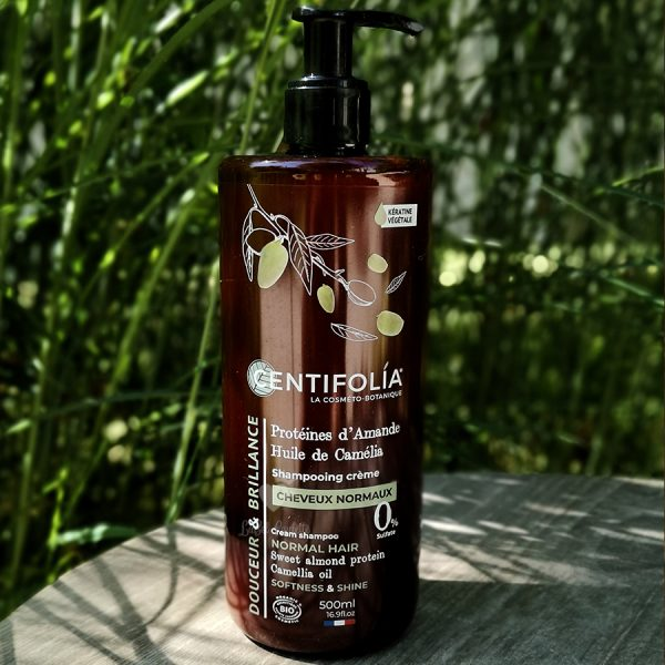 shampoing crème cheveux normaux centifolia