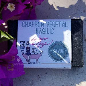 savon surgras charbon vegetal basilic savons de joya
