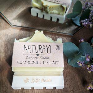 savon surgras Camomille et lait de chèvre Naturayl