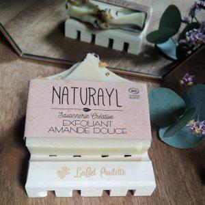 savon surgras exfoliant amande douce naturayl