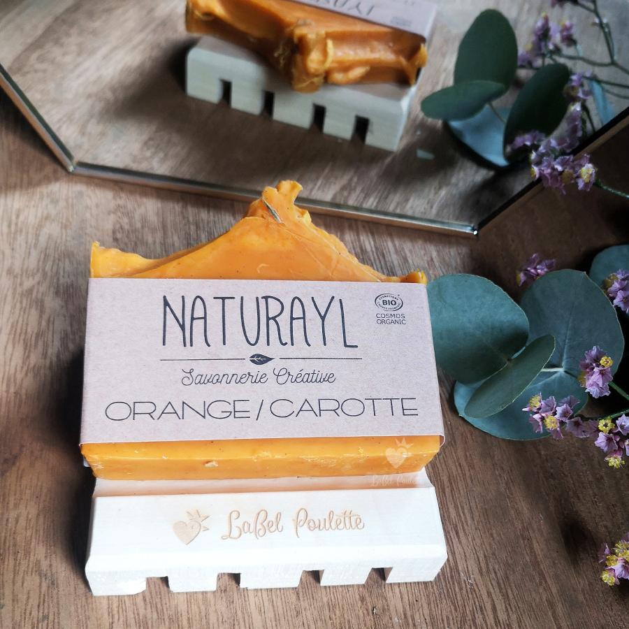 savon surgras orange carotte naturayl