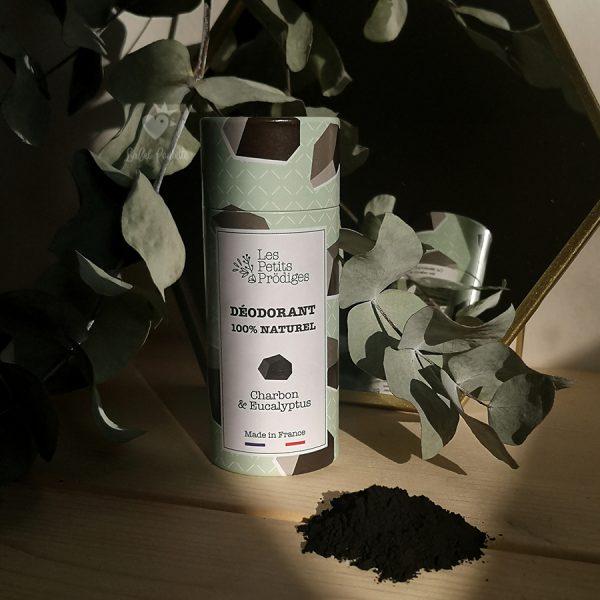 déodorant Charbon & Eucalyptus petits prodiges - déodorant naturel