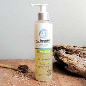 gel nettoyant purifiant pur skin Guérande Cosmetics