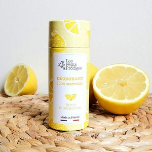déodorant citron bergamote les petits prodiges