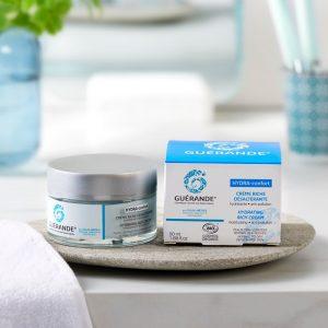 crème hydre Confort Guérande crème visage hydratante désaltérante