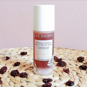 masque exfoliant aux acides de fruits la Canopée