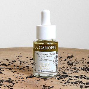 sérum huileux super plantes antioxydant la canopée