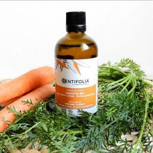 huile de soin de carotte centifolia