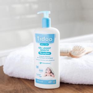 gel lavant sensitif non parfumé tidoo