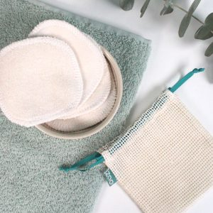 Coton démaquillant lavable zao make up