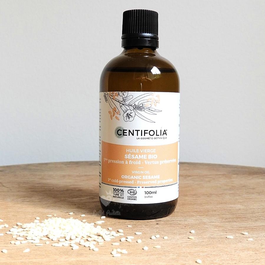 huile végétale sésame centifolia